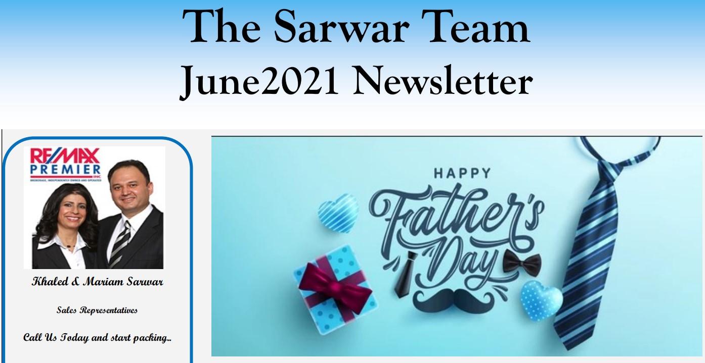 Sarwar Team June 2021 Newsletter