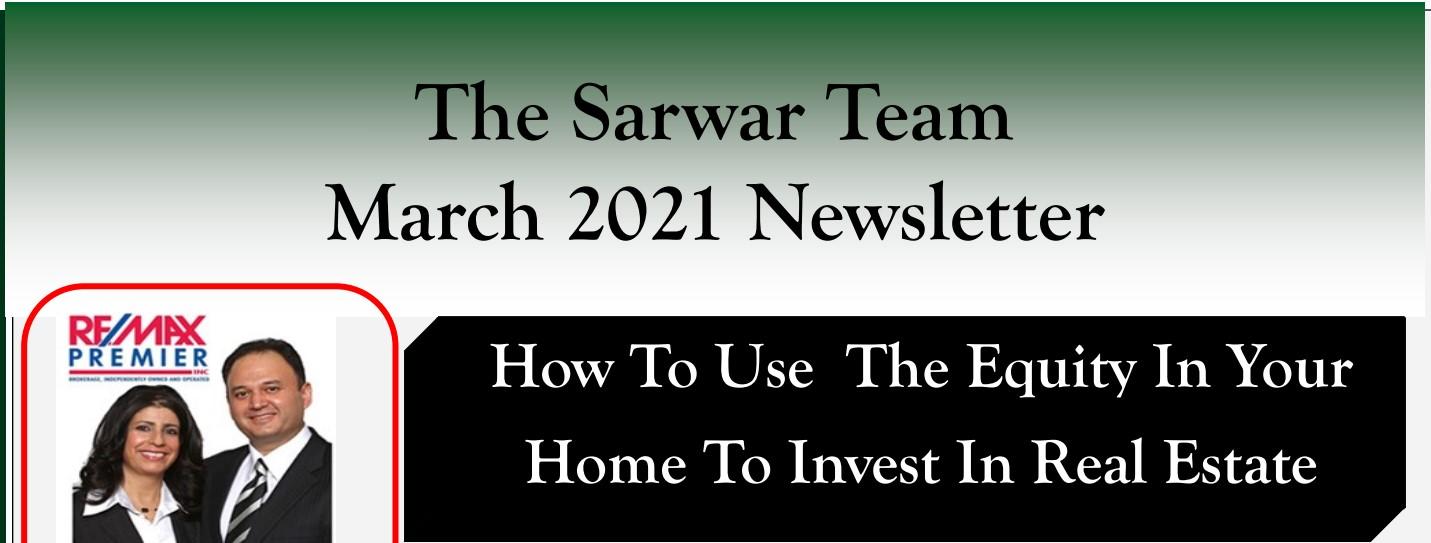 Sarwar Team March 2021 Newsletter